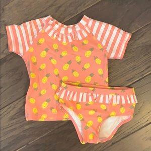 Pineapple swim suit